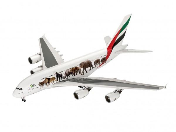 "Airbus A380-800 Emirates ""Wild Life"" 1/144 - Revell 03882"