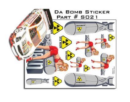 Aufkleber Da Bomb - XXXMain S021