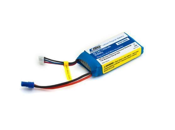LiPo 7.4V 1300mAh für DeltaRay - E-Flite EFLB13002S20