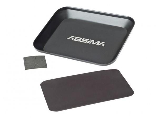 Aluschale mit Magnetplatte - Absima 3000061