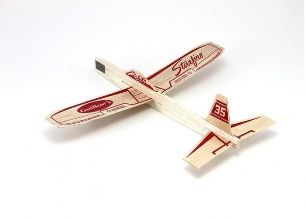 Freiflugmodell Starfire Balsa Glider Spw.30cm - Guillows 35