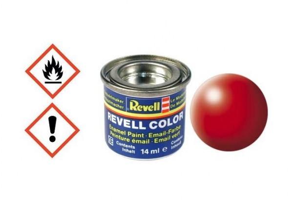 Leuchtrot seidenmatt RAL 3026 14ml Dose - Revell 32332
