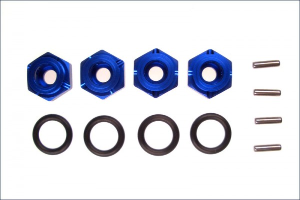Radmitnehmer ALU blau - Kyosho VZW10
