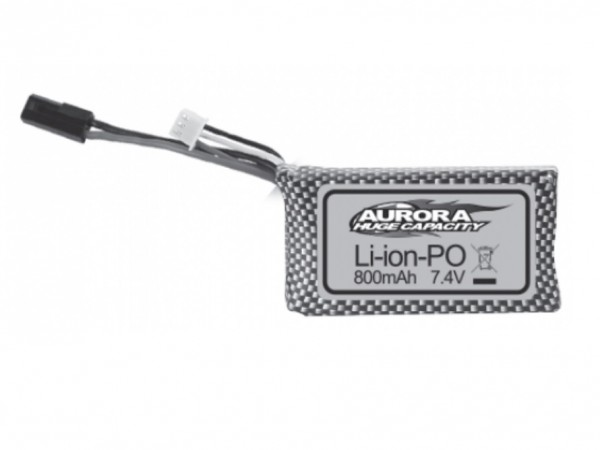 Li-Ion 7.4V 800mAh für Absima Spirit - Absima 30-DJ03