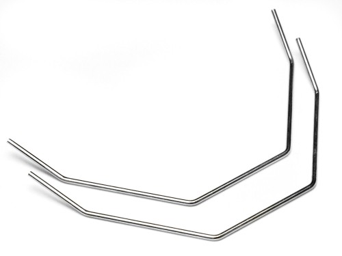 Stabisator 1.4mm (silber PRO4) - HPI Racing 75126